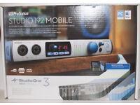 PreSonus Studio 192 Mobile USB 3.0 audio interfac