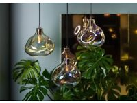 Heal's Bolha Pendant Light - Brand New, Unused Glass Pendant Light