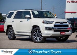 2016 Toyota 4Runner Limited, ONLY 29063 km's!!, 7 Seater, Naviga