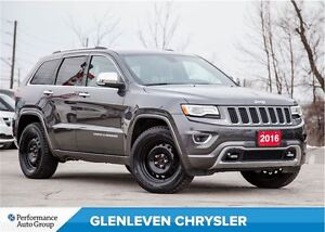 2016 Jeep Grand Cherokee Overland | NAVIGATION | LEATHER | PANO