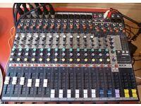 Mixing desk Soundcraft Efx 12