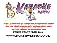 MOBILE DJ AND KARAOKE MANCHESTER