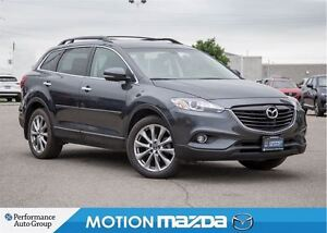 2015 Mazda CX-9 GT Leather Roof Navi