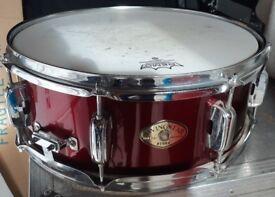TAMA Swingstar Snare Drum.Wine Red