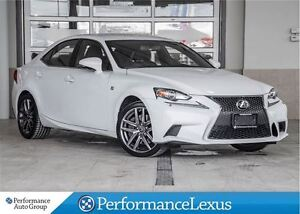 2014 Lexus IS 350 AWD 6A F SPORT !!