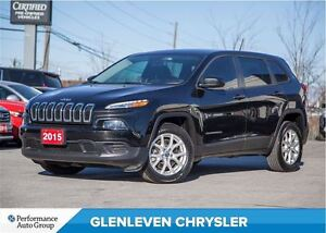2015 Jeep Cherokee Sport | COLD WEATHER GROUP | BACK UP CAMERA