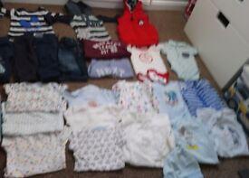Baby boy bundle 3-6 months