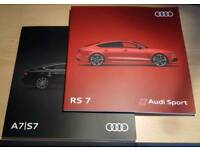 Audi Rs7 & A7 / S7 MY18 Brochures