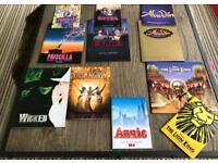 Theatre Programme & Souvenir Brochure from London West End Shows - Lion King, Evita, Aladdin etc