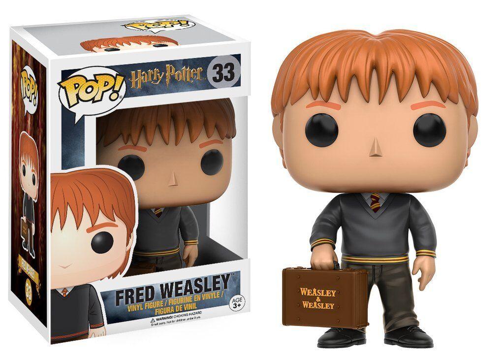FUNKO POP Harry Potter Fred Weasley 33 Action Figure Nuovo Da Collezione New