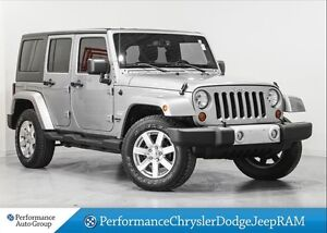 2013 Jeep WRANGLER UNLIMITED Sahara * Leather * Nav