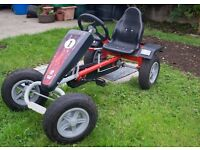 Go-Kart. Excellent condition, hardly used, big tyres, easy to drive, rollbar for extra safety