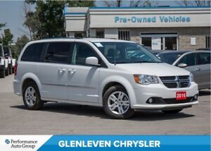 2016 Dodge Grand Caravan Crew + | NAV | LEATHER | PWR SLID DOORS