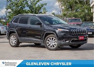 2016 Jeep Cherokee Pending sold...Limited | PANORAMIC SUNR