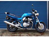 Suzuki GSF600 Bandit 600 Blue 2000 Mark1 MK1 only 17,000 miles