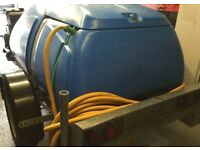 western water bowser 1100 liter road legal