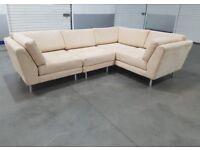 Arighi Bianchi - Fabric L-Shape Corner Sofa