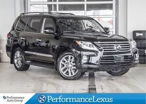 2015 Lexus LX 570 6A ONE OWNER !!
