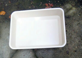 Good quality large trays - gardening / pets / DIY /hydroponics (£5 for 3)