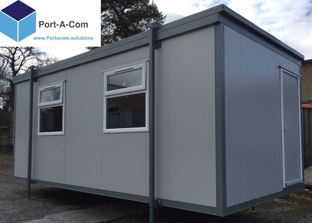 New 20 39 x10 39 insulated portable cabin office in dungannon for Insulated office