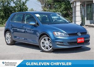 2015 Volkswagen Golf 2.0 TDI Highline | NAV | ROOF | LEATHER | B