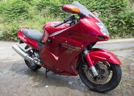 Honda CBR 1100xx Blackbird (1998) Red