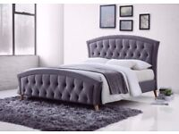 Best Price Offered- Strong & Sturdy Frame- Brand New Double Size Merci Designer Bed