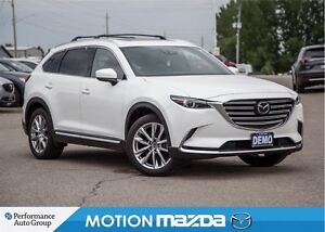 2016 Mazda CX-9 GT TECH Demo Roof racks+Rails