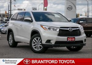 2016 Toyota Highlander LE, 25952 Km's, FWD, Off Lease, Carproof