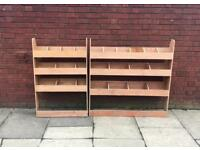 VW Caddy Plywood Racking (SWB)