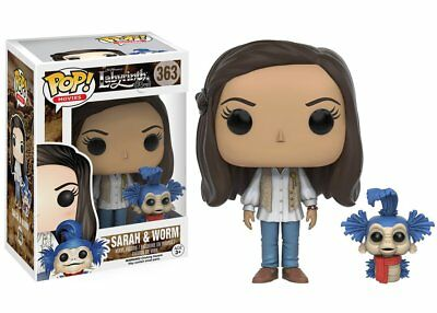 Funko Pop Movies Labyrinth: Sarah & Worm Vinyl Action Figure Collectible Toy 363