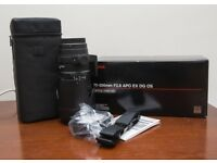 Sigma 70-200mm F2.8 APO EX DG OS (Canon)