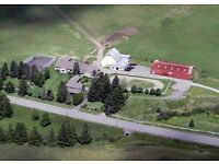 Equestrian Boulderwood Stables Nova Scotia Canada 256 acres 17 horses indoor pool lovely 5 bed house