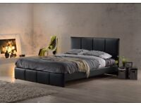 CALL NOW FOR SAME DAY DELIVERY > BRAND NEW LEATHER BEDS > 3 COLORS AVAILABLE
