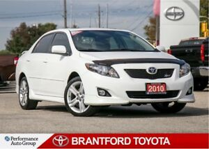 2010 Toyota Corolla XRS, Automatic, Sunroof, One Local Owner