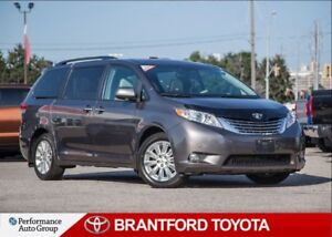 2011 Toyota Sienna Limited, AWD, ONLY 87681 kms, Local Trade.