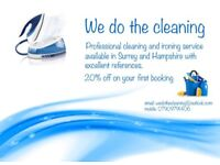 Private house cleaning and ironing service