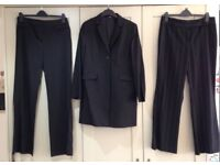 M&S and Next black suit & trousers
