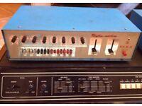 ELKA RHYTHM MACHINE Vintage Analog Italian Drum Machine Very RARE