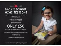 Bradford Photographer Back to school minis August/September special!