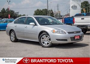 2013 Chevrolet Impala Trade in,V6, Automatic, Carproof Report Cl