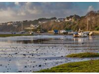Alongside the Gannel Estuary, Newquay. Apartments available from 24/8 @ £595 P/W