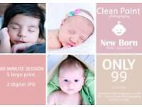 Newborn mini photo session