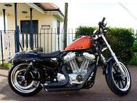 Harley Davidson - XL883 Sportster SuperLow - One Owner, Showroom Condition!
