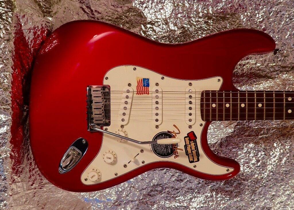 American Fender Stratocaster, 60th Anniversary, Unmarked As New.
