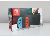 Nintendo Switch + Mario Odyssey - All boxed. Like new