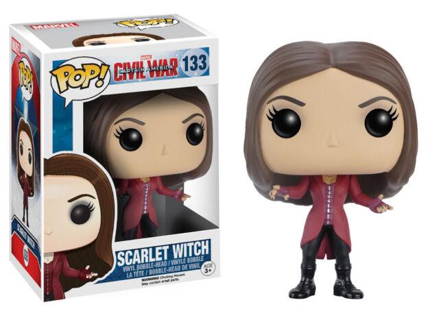 Marvel Captain America 3 Civil War Pop! Vinyl Figure - Scarlet Witch