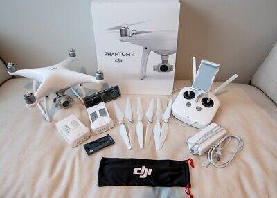 DJI Phantom 4 Drone Bundle With Original Case - Excellent Condition