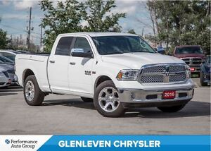 2016 Ram 1500 Laramie | RAM BOX | NAV | ROOF | LEATHER | TRAILER