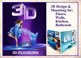 3D Flooring, any design any size
